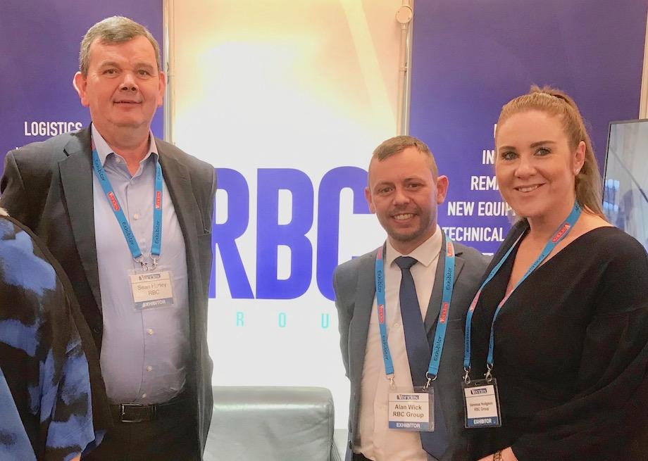 Sean Hurley, Alan Wick, Vanessa Hodgson from RBC Group