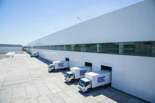 RBC Group Logistics Warehouse and Vehicles
