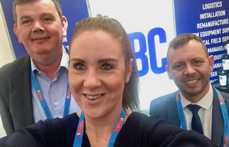 We welcome Sean to the team (left), who is joined by Vanessa Hodgson - Commercial Manager (middle) and Alan Wick - Sales Manager, on the right.