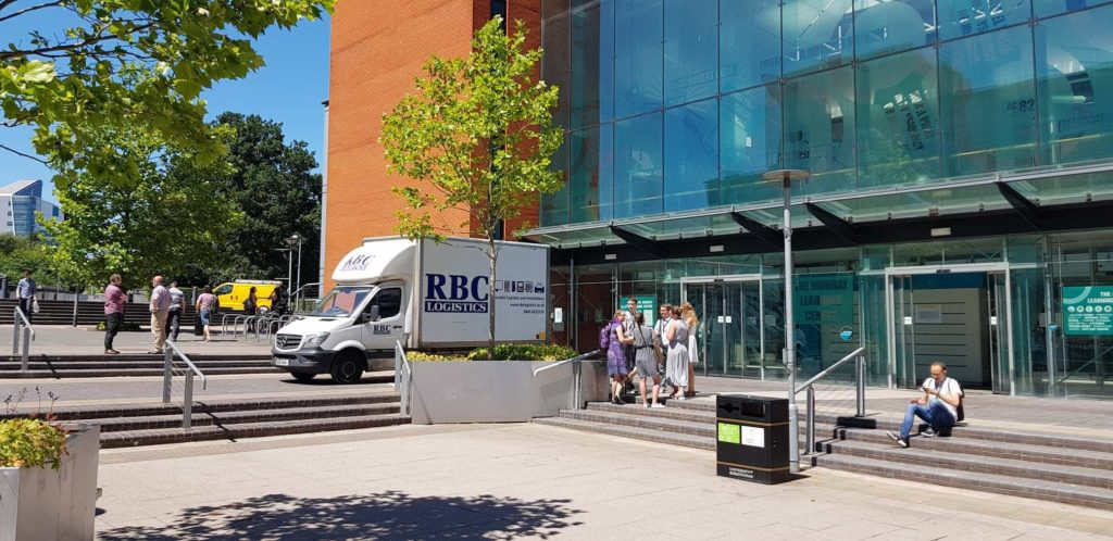 Specialist delivery and installation from RBC Group logistics solutions