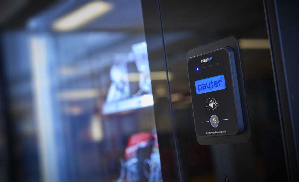 vending machine, Payter, contactless, cashless solution  Partnership Announcement: RBC Group and Payter