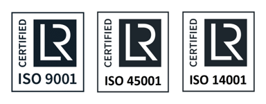 RBC Group isISO 9001 ISO 14001 ISO 45001 certified