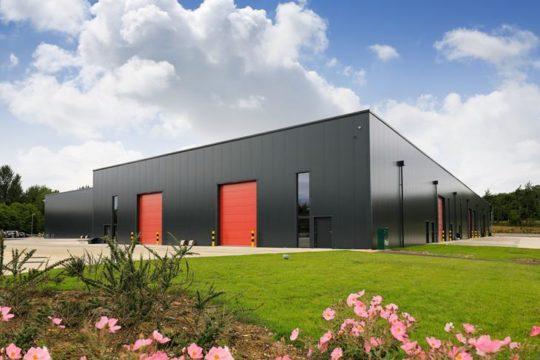 The New, Environmentally Friendly RBC Group Facility in Milton Keynes.