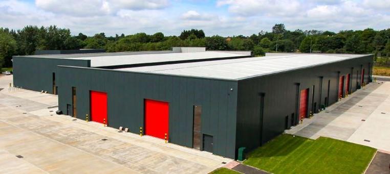 Outside view of RBC Milton Keynes Facility