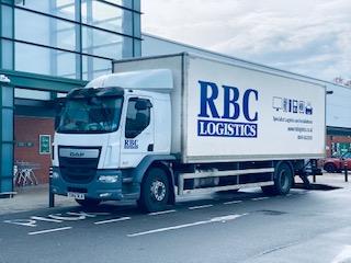 RBC Specialist Logistics Lorry